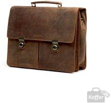 Harolds Antico Aktentasche mit Laptopfach aus Leder 41 cm (451703)