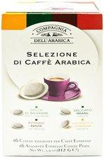 Compagnia dellarabica Espresso 4 Grands Crus (16 Pads)