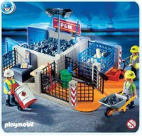 Playmobil 4135 SuperSet Bauhof