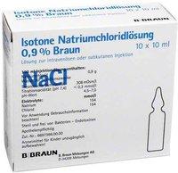 B. Braun Kochsalzloesung 0,9% Amp. (10 x 10 ml)