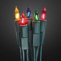 Hellum Mini-Lichterkette 10er bunt