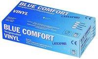 Ampri Blue Comfort Vinyl Gepudert Unsteril Blau Gr. L (100 Stk.)