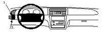 Brodit ProClip Honda Shuttle Bj. 96-00