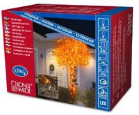 Konstsmide Micro-Lichterkette orange 120 LEDs (3612-850)