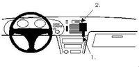 Brodit ProClip Toyota Celica Bj. 90-93