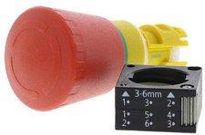 Siemens Not-Aus-Pilzdrucktaster 3SB3000-1HA20