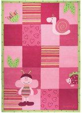 Esprit Kinderteppich Garden Party Bee pink 170 x 240 cm
