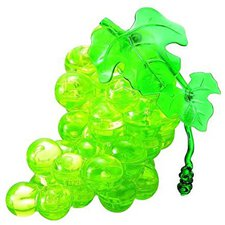 HCM Crystal - Trauben / Weintrauben grün (46 Teile)
