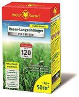 Wolf-Garten Rasen-Langzeitdünger Premium LE