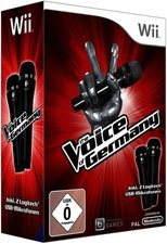 The Voice of Germany + 2 Mikrofone (Wii)