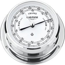 Wempe Barometer Skiff Chrom 110mm