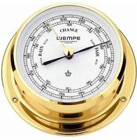 Wempe Barometer Skiff Messing 110mm