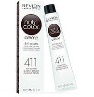 Revlon Nutri Color Creme 411 Braun (100 ml)
