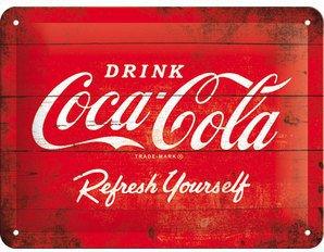 Coca Cola Blechschild