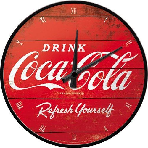 Coca Cola Wanduhr