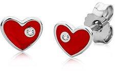 Miore Herz Silberstecker (MSM100EK)