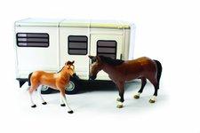 ERTL Pferdeanhänger mit Pferd und Fohlen (42846)