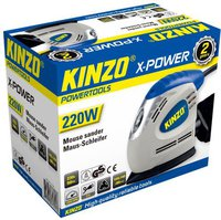 Kinzo X-power 220W Mausschleifer