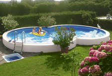 my pool Achtformpool Premium 470x300x120cm