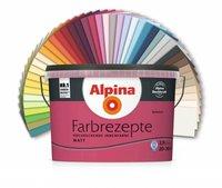 Alpina Farben Farbrezepte Wandfarben Waldmeisterin 1 Liter