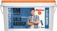 Alpina Farben Tim Mälzer Farbrezepte Goldrausch Komplett-Set Königsblau