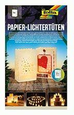 Folia Papier-Lichtertüten Herzen 5 Stück (11902)