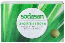 Sodasan Lemongrass Cream Bio-Seife (100 g)