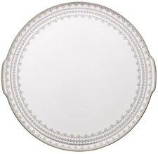 Villeroy & Boch White Lace Kuchen-/Tortenplatte 34 cm