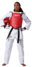 Kwon TKD Kampfweste Competition Reversible CE WTF rec.