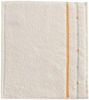 Vossen Quadrati Seiftuch ivory/melon (30 x 30 cm)