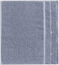 Vossen Quadrati Seiftuch kiesel/weiß (30 x 30 cm)