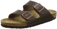 Birkenstock Arizona Natural Leather dark brown
