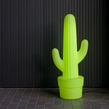 Mexikanischer Kaktus grün mit Topf 230 cm