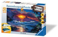 Ravensburger Travelpuzzle Sunset Beach 150 Teile