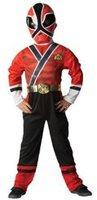 Rubies Power Rangers Samurai Kostüm Roter Ranger