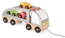 Janod Lastwagen mit Rennwagen