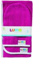 Luma Badetuch + Waschhandschuhe