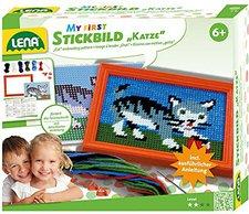 Lena Design Studio Stickbild Katze