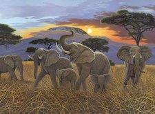 Royal & Langnickel Malen nach Zahlen - Sonnenuntergang am Kilimanjaro