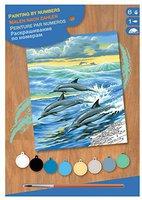 KSG Malen nach Zahlen Masterpiece Delfine