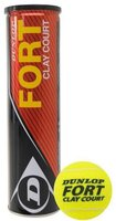 Dunlop Sport Fort Clay Court Tennisbälle 4er