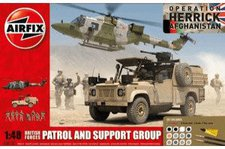 Airfix British Forces - Patrol and Support Group (A50123)