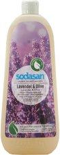 Sodasan Bio Pflanzenseife Lavendel Olive flüssig (1000 ml)
