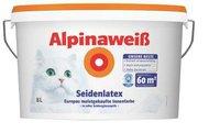 Alpina Farben Alpinaweiß Seidenlatex 8 Liter