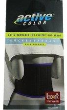 Bort ActiveColor Rückenbandage schwarz Gr. L