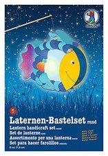 Buntpapierfabrik Ludwig Bähr Laternen-Bastelset rund - Fisch