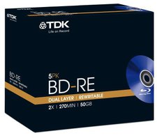 TDK BD-RE Double Layer