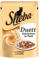 Sheba Duett mit Geflügel (85 g)