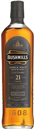 Bushmills 21 Years Old Malt 0,7l 40%
