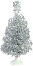 Europalms Tischtannenbaum silber 45 cm